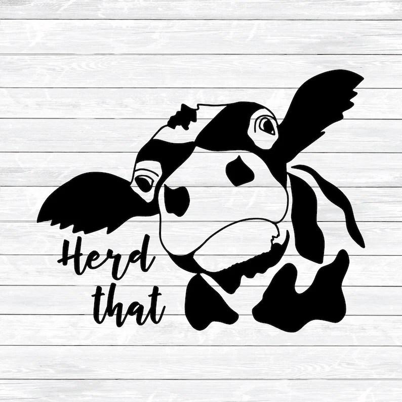 Download Herd That Svg Funny Farming Svg Farmer Svg Cow Svg Cut | Etsy