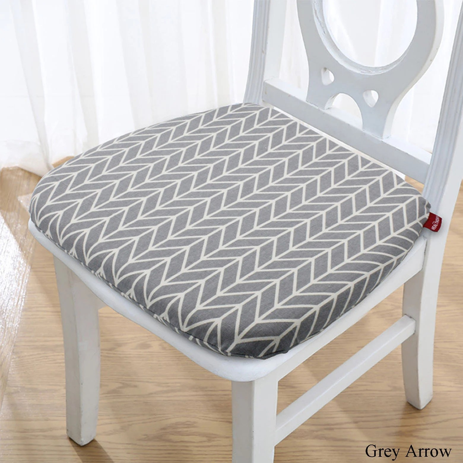 memory foam chair cushion with ties dine chair pad kitchen etsy