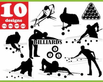 Download Billiard svg | Etsy