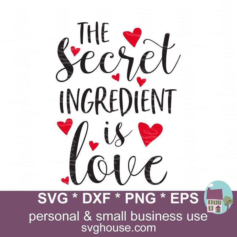 Download The Secret Ingredient Is Love SVG Potholder SVG Files For ...