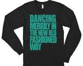 Christmas Dance Shirt for men, Long sleeve t-shirt (unisex) | Swing Swag Dancer Gifts