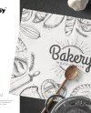 Placemat Mockup Set Placemat Template Custom Napkin Etsy