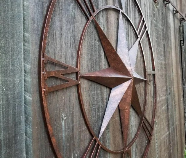Compass Wall Art Metal Wall Decor Metal Wall Art Nautical Etsy