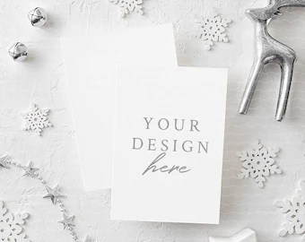 Download Christmas Card Psd Mockup Free Download Yellowimages