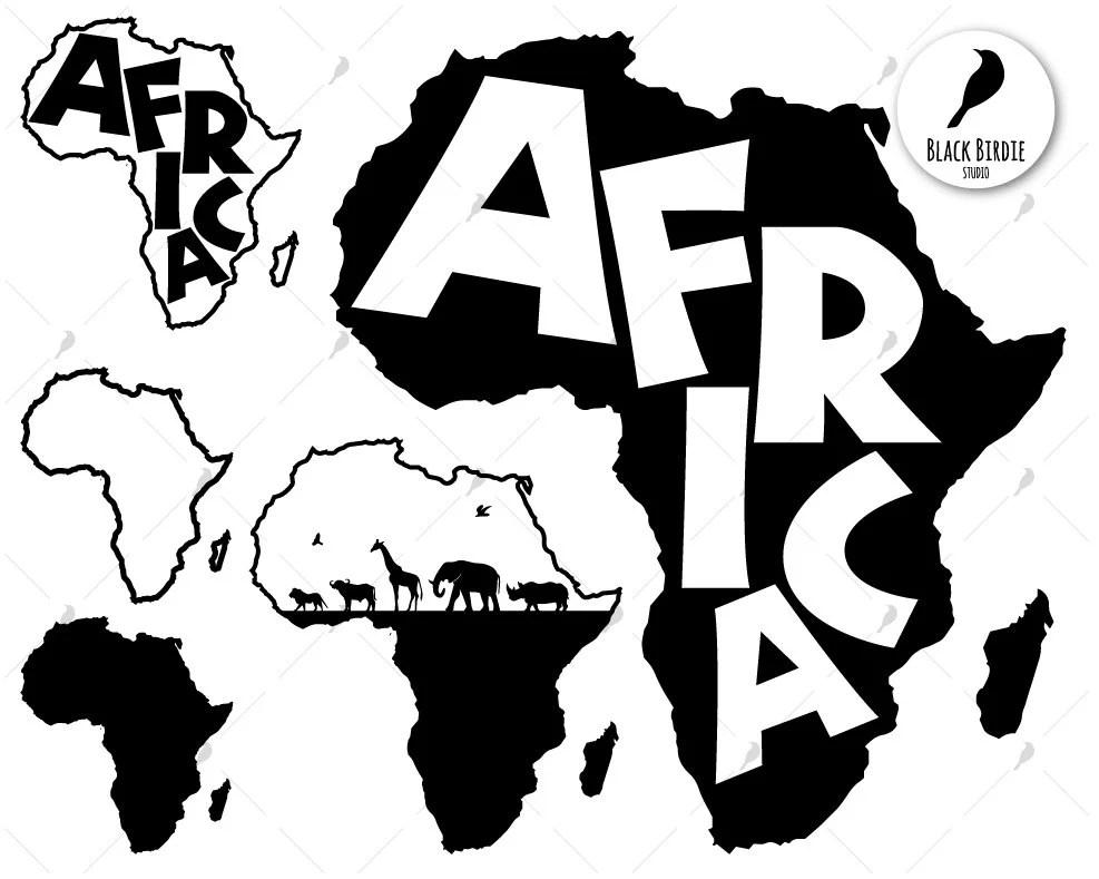 Download Africa svg africa clipart africa map svg black africa svg ...