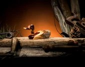 Cedar Fence Post Duck—Small. Gift for Him. Gift for Men. Father's Day Gift. Rustic Decoy. Duck Hunter Gift.