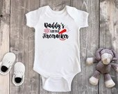 Daddys Little Firecracker, Baby Girl Bodysuit, Baby Boy Bodysuit, Toddler Shirt, 4th of July Outfit, First Fourth of July