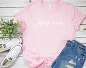 Jesus Wins Shirt, Jesus, Faith, Christian Shirt, Religion, Woman Tee, Mom Shirt, Gift for Mom, Boyfriend Style Tee