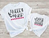 Set of 2, Mommy and Me Outfits, I Need A Nap, Naps Are For Babies Matching Shirt Set, mama & me, mom and daughter, mom and son