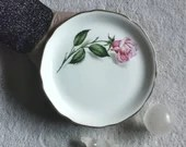Plate (vintage) - Queen of Roses