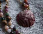 Necklace - Pink Seashell