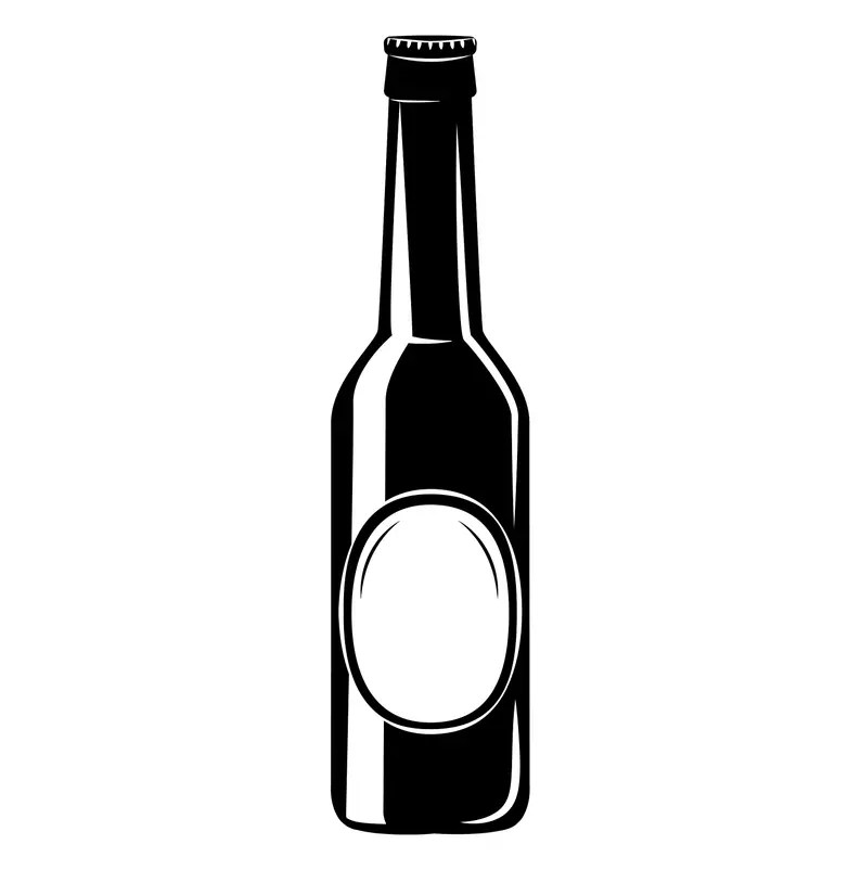 Download Beer bottle icon SVG Alcohol drink Craft beer Brewery   Etsy