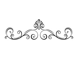 Image result for separator flower divider line