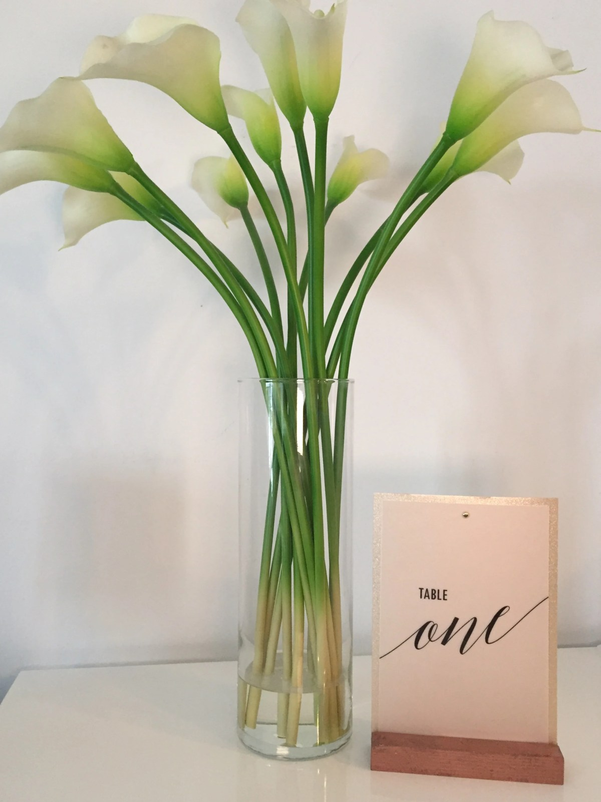 Vellum Table Number | Wed...