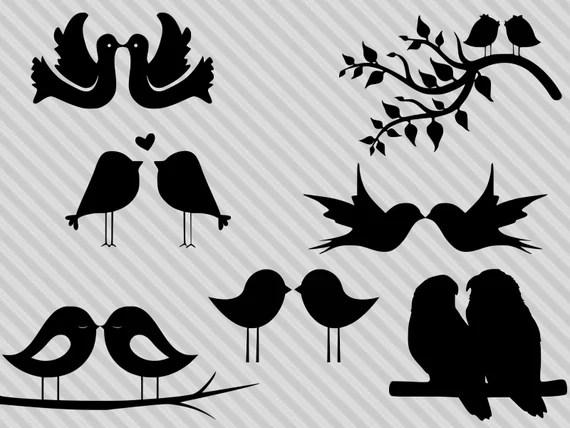 Download Love birds svg bundle love birds clipart love birds   Etsy