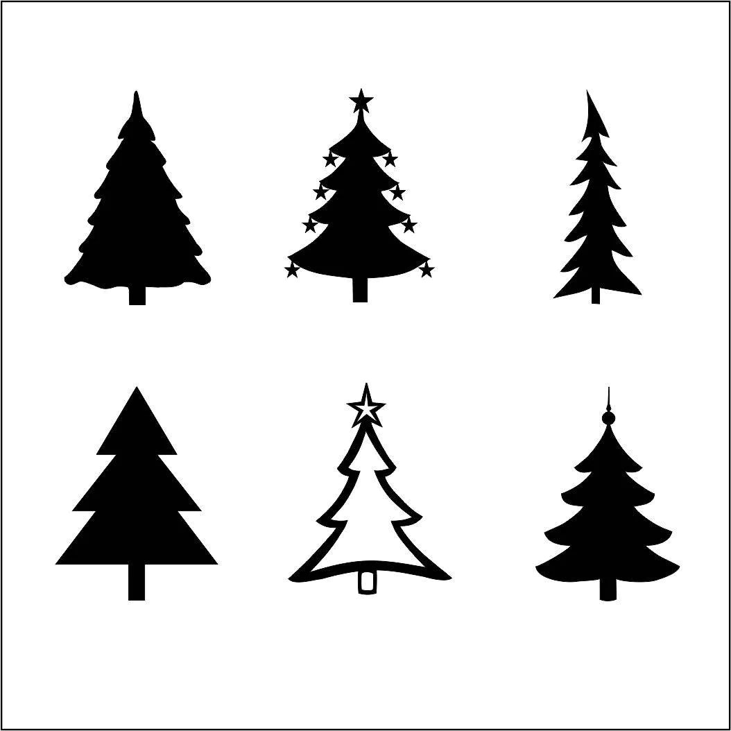 Christmas Tree Svg Files For Silhouette Cameo And Cricut