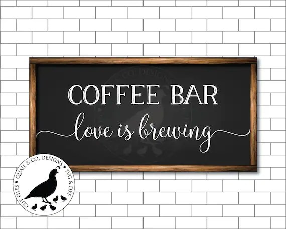 Download Coffee Bar Love is Brewing svg Coffee Bar svg Coffee svg ...