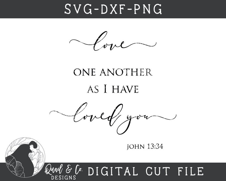 Download Svg Files Love One Another svg Christian svg Bible Verse ...