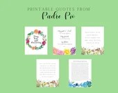 Padre Pio Quotes/ Prayers Printables