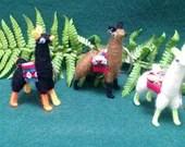 Keyrings - alpaca & hats