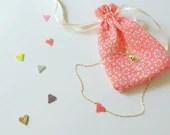 Miyuki beads Heart Necklace