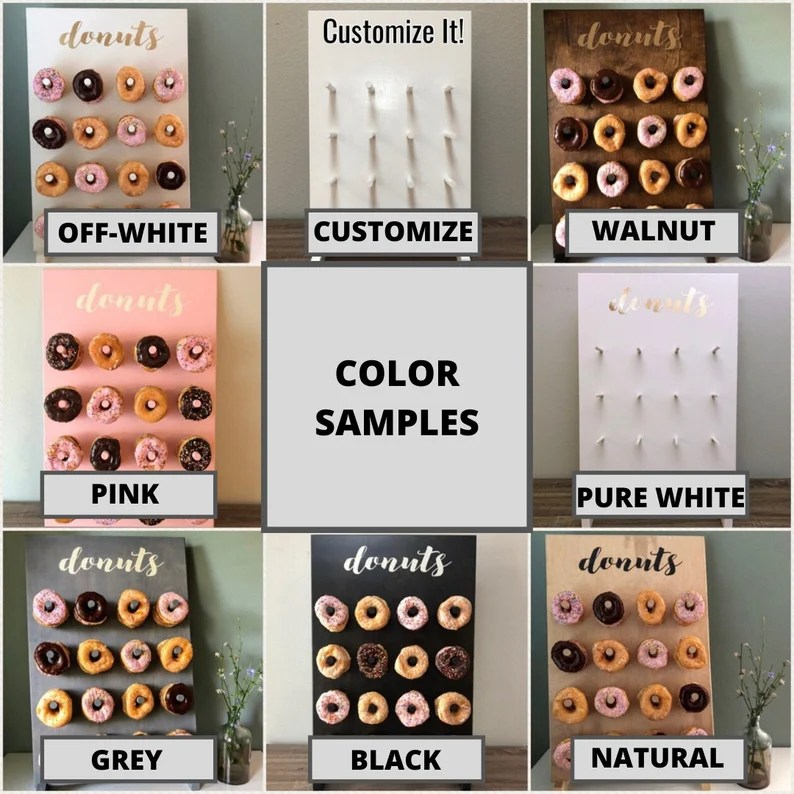Download HOLE LOTTA LOVE Donut Wall Up to 48 Donuts Multiple Color ...