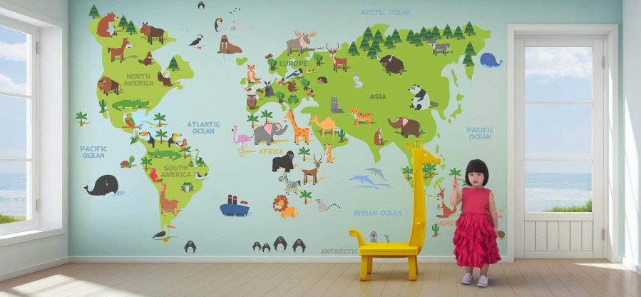 World map mural self adhesive path decorations pictures full world map wallpaper kids wallpaper world map removable wallpaper world map wallpaper kids wallpaper world map self adhesive wallpaper world map mural gumiabroncs Choice Image