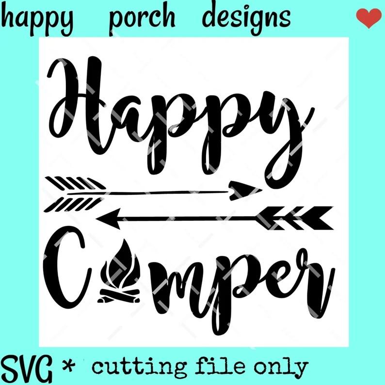 Download Happy Camper SVG I love camping svg camping svg dxf png ...