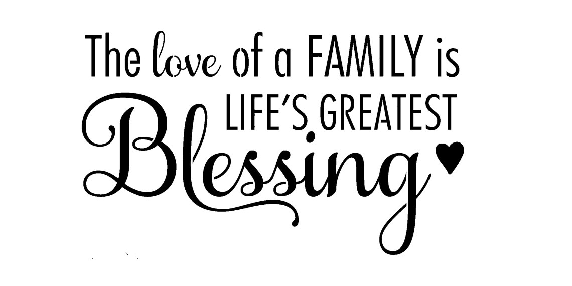 Download The love of a Family is Life's Greatest Blessing   Etsy