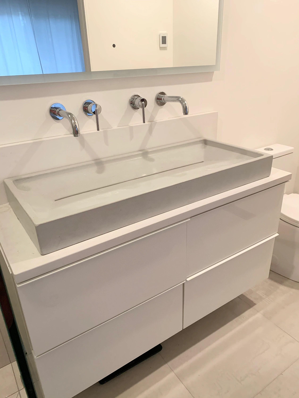 40 concrete ramp sink slot drain