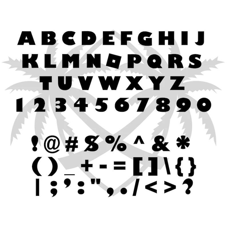Download Roblox svg Bundle Pack 2 Different Roblox Font Alphabet | Etsy