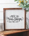 12x12 Wood Sign Mockup Wood Sign Mockup Wood Frame Mockup Real Etsy