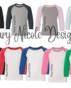 Every Shirt Color Youth 3352 Digital File Shirt Color Chart Etsy