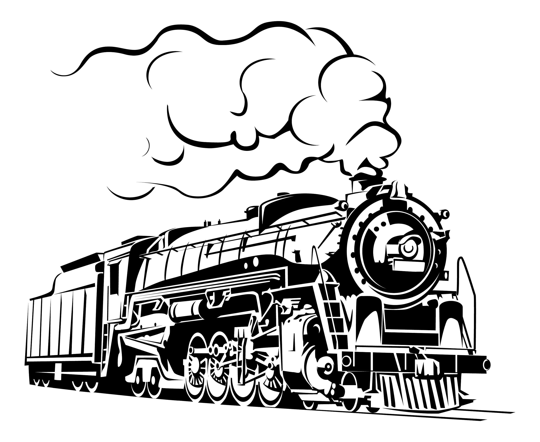 Steam Train Train Vintage Train Retro Train Steam