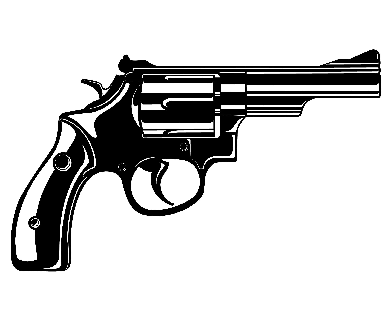 Revolver Gun Pistol Weapon