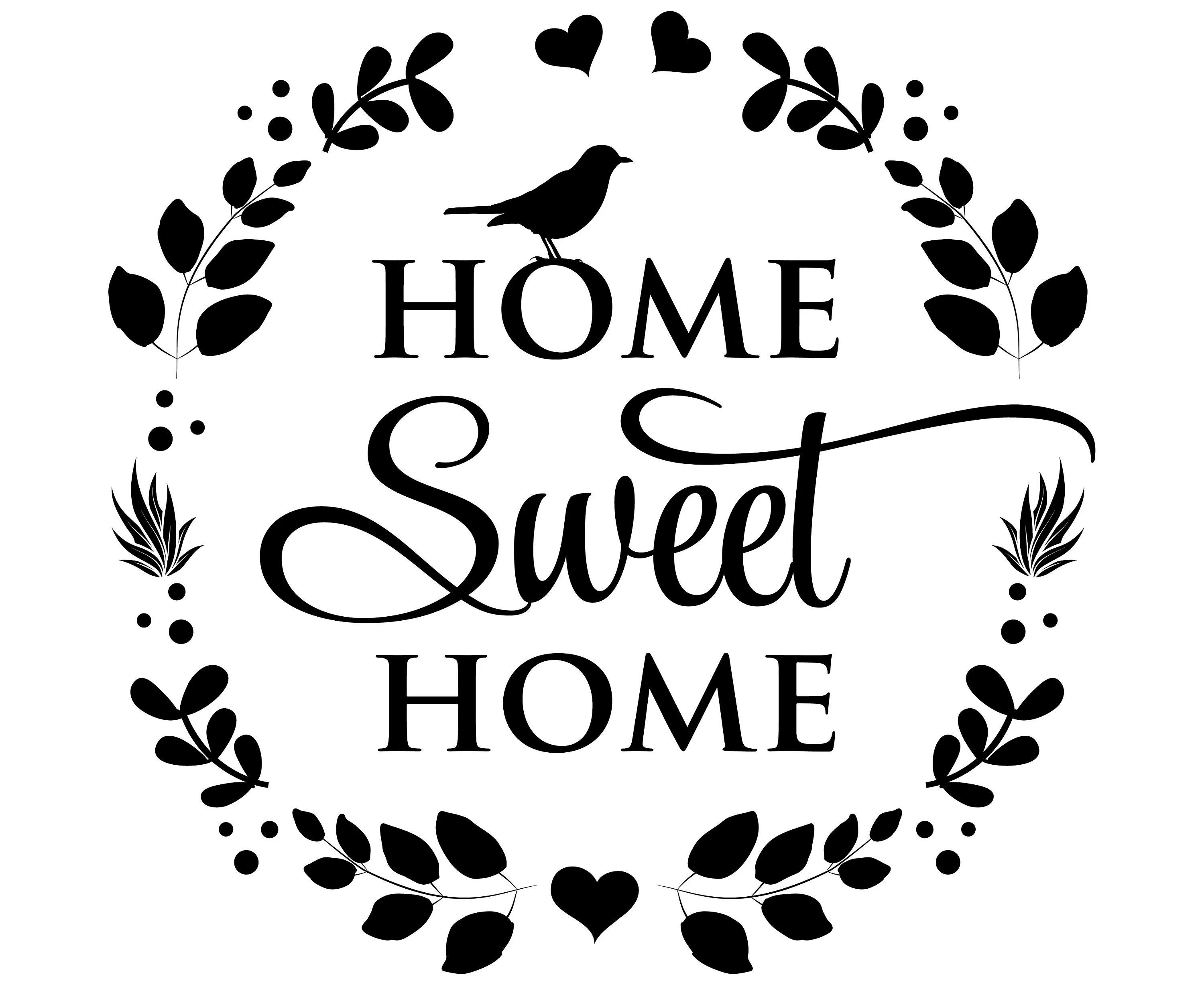 Home Sweet Home Svg Home Svg Quotes Home Quote Svgsvg