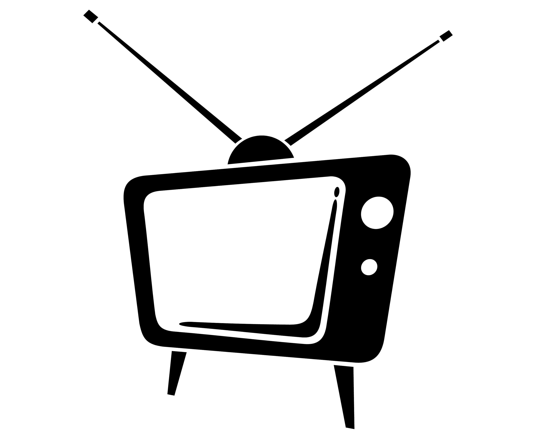 Tv Vintage Retro Alte Silhouette Svg Grafik