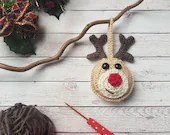 Christmas Reindeer Tree Decoration