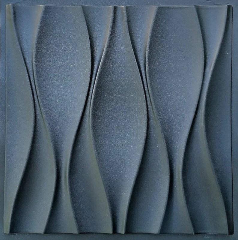 Kunststoff-Formenbau für 3d Dekor Wandpaneele 14 Gips Gips Etsy