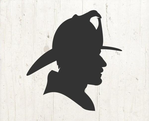 fireman silhouette clip art # 6