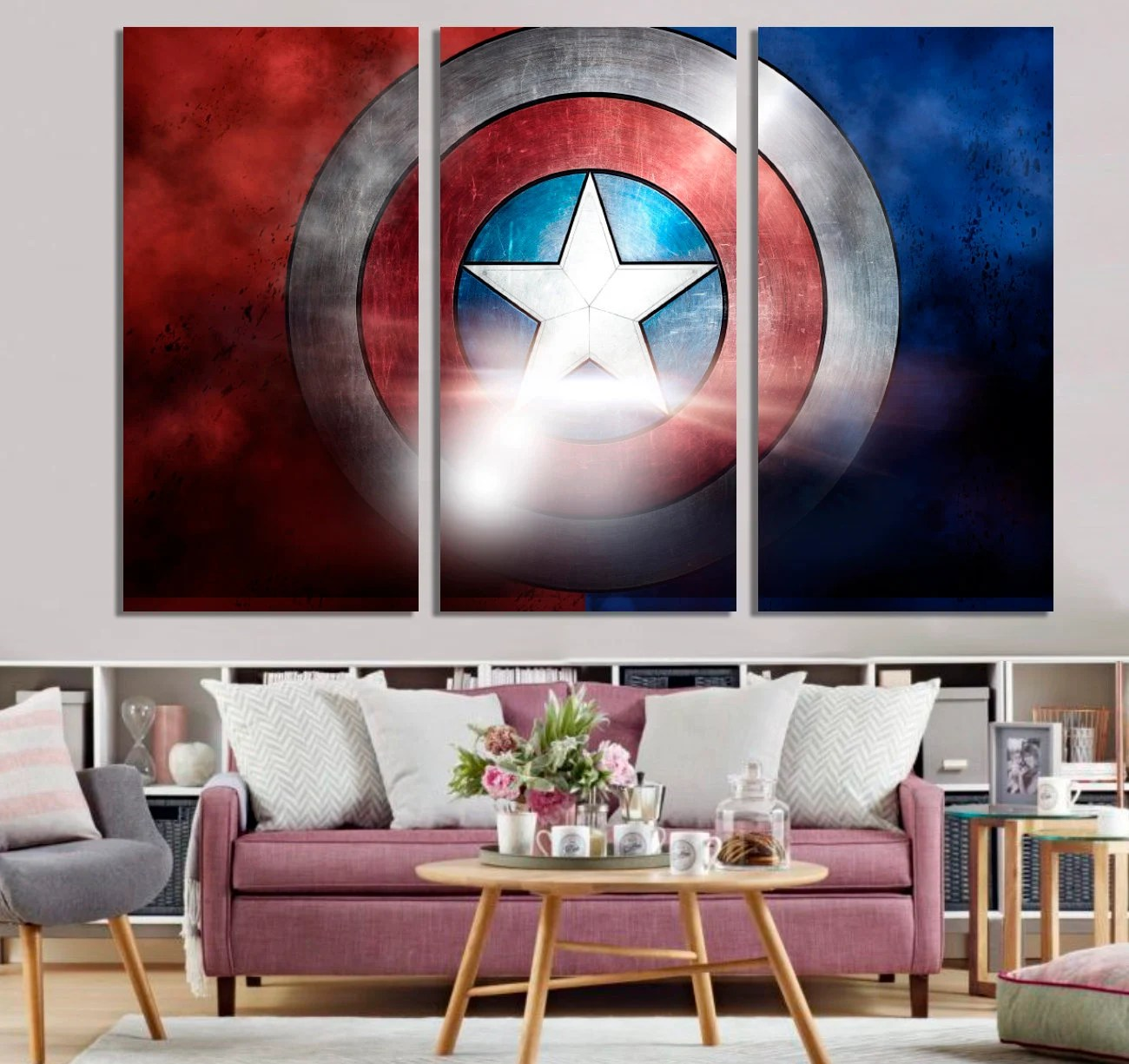 captain america the avengers toile