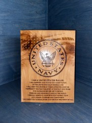 Navy Plaque image 0