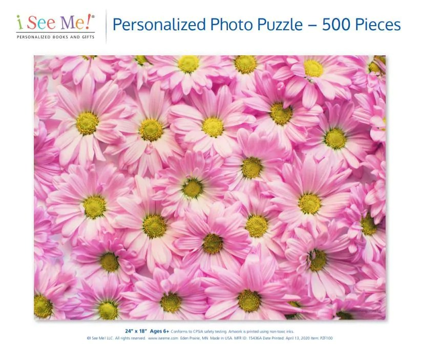 Custom Puzzle for Adults 500 Piece  Father's Day Gift for image 4