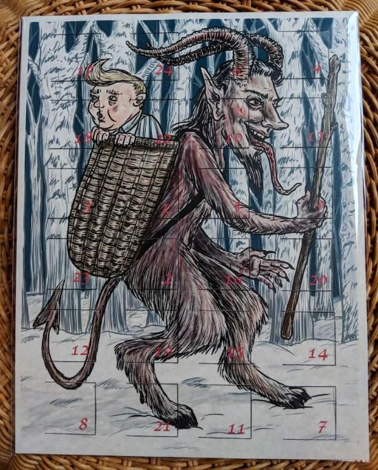 BADvent Calendar: A Krampus and Creepy Christmas Creatures image 0