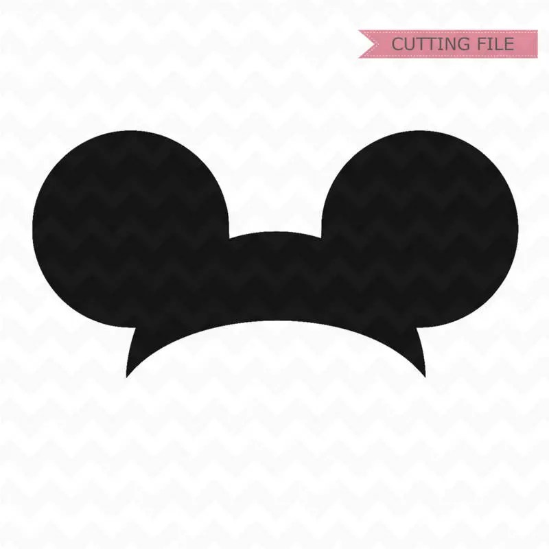 Download Mickey Mouse Ears svg Mickey Mouse Head svg and png file ...