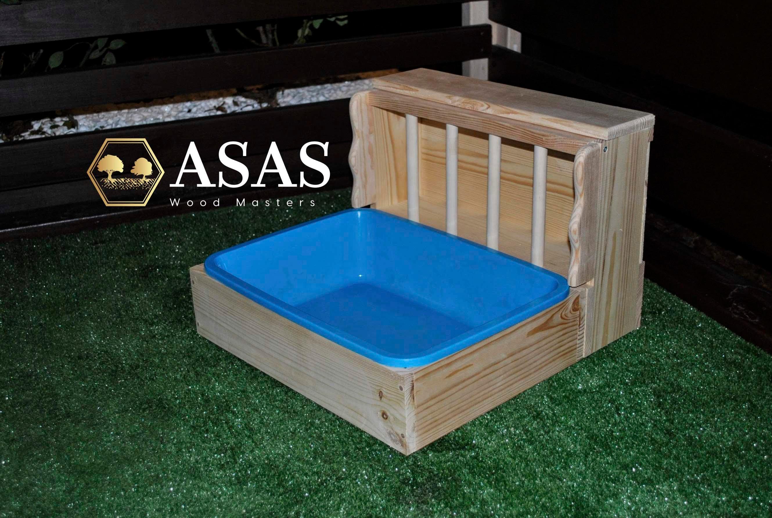 small animal supplies asaswood hay rack