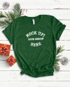 Bella Canvas 3001 Evergreen Christmas Mock Ups Knotted Tee Etsy