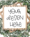 Sign Mockup Frame Mockup Mockup Blank Sign Photo Wood Sign Etsy