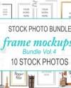 Frames Mockup Bundle Picture Frames Empty Frames Picture Etsy