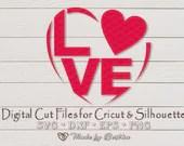 LOVE SVG, Love hearts, I love you svg- Digital Download, Cricut, Silhouette, Valentines svg  Love Hearts il 170x135